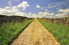 Thwaite lane, ancient byway, Yorkshire Royalty Free Stock Photography