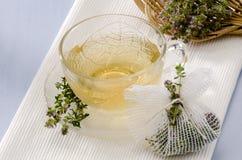Thyme Herbal Tea Stock Image