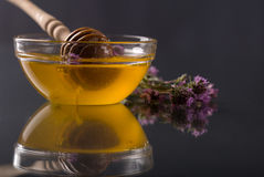 Thyme tea and syrup Stock Images