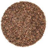 Thyme Texture On a Perfect Circle Royalty Free Stock Image