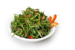 Thyme and tomato Salad, Lebanese Cuisine Royalty Free Stock Photography