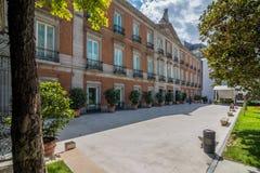 Thyssen-Bornemisza Museum, Madrid, Spanje Stock Foto's