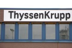 Thyssen Krupp Zdjęcia Royalty Free