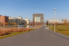 ThyssenKrupp AG Essen. Essen, Germany - November 1, 2015: Office area of German steel company ThyssenKrupp AG in Essen, Germany Stock Photos