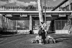 Thyssenkrupp Turin Fotografering för Bildbyråer