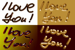 Ti amo! illustrazione vettoriale