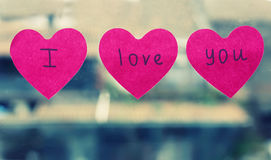 Ti amo Fotografie Stock
