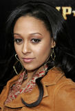 Tia Mowry. Attends the World Premiere of `Stomp The Yard` held at the Cinerama Dome in Hollywood, California on January 8, 2007 Stock Image