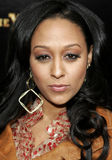 Tia Mowry. HOLLYWOOD, CALIFORNIA. Monday January 8, 2007. Tia Mowry attends the Los Angeles of Stomp The Yard held at the Cinerama Dome in Hollywood, California Stock Photos