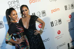 Tia and Tamera Mowry #3. Sisters, Tia and Tamera Mowry of the classic mid-1990s sitcom Sister, Sister attend the 2010 BET After Party at Mr. Chow's in Beverly Stock Photography