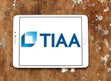Tiaa-Organisationslogo Lizenzfreies Stockfoto