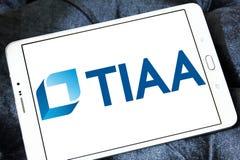 Tiaa-Organisationslogo Stockbilder