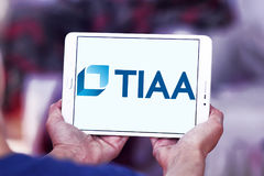 Tiaa organizaci logo Fotografia Royalty Free