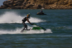 Tiago Almeida in Gran Prix of Jet Ski Stock Photos