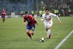 Tiago Gomes und Andrei Margaritescu stockbild