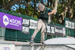 Tiago Lopes during the DC Skate Challenge Royalty Free Stock Photo
