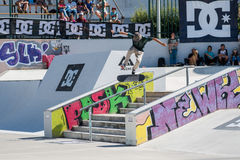 Tiago Lopes during the DC Skate Challenge Stock Photo