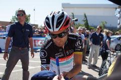 Tiago Machado 2012 Amgen Tour of California  Royalty Free Stock Images