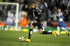 Tiago Manuel Dias of Cordoba CF Royalty Free Stock Photos