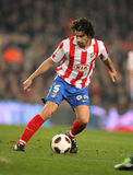 Tiago Mendes of Atletico de Madrid Royalty Free Stock Images