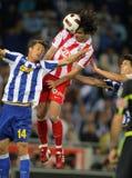 Tiago Mendes of Atletico Madrid Stock Photos