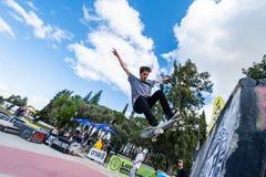 Tiago Pinto under den 1st utmaningen för etappDC-skridsko Fotografering för Bildbyråer