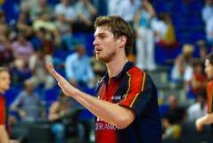 Tiago Splitter, TAU Vitoria player Stock Photo
