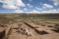 tiahuanaco tiwanaku 免版税库存照片
