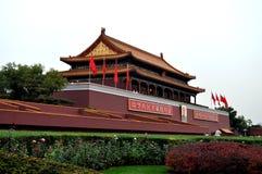 Tian'anmen mównica obrazy royalty free