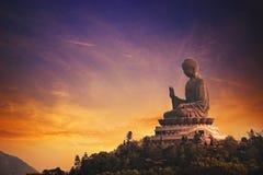 tian Будды tan Стоковое фото RF