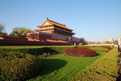 Tian Anmen του Πεκίνου Κίνα Στοκ φωτογραφία με δικαίωμα ελεύθερης χρήσης