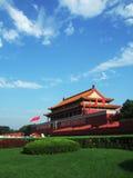 Tian AnMen Gate In Beijing Royalty Free Stock Photo