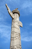 Tian'anmen ornamental columns Stock Photo