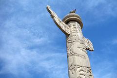 Tian'anmen ornamental columns Stock Photos