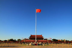 Tian'anmen Square in Beijing Royalty Free Stock Photography