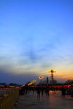 Tian anmen square Royalty Free Stock Photos