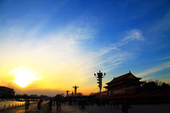 Tian anmen square Royalty Free Stock Photo