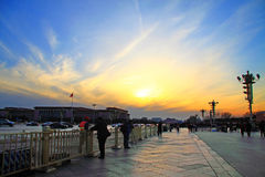 Tian anmen square Stock Images