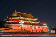 Tian anmen square Royalty Free Stock Photo