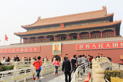 Tian 'anmen square Royalty Free Stock Photography