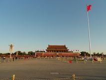 Tian'anmen square. Ming Xizong (reign Apocalypse) is addicted to woodworking, to the eunuch Wei Zhongxian opportunity, he always take the emperor as a carpenter Royalty Free Stock Photo