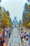 Tian Bouddha tan photos libres de droits