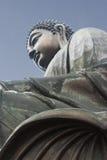 tian buddha Hong Kong staty Arkivfoto