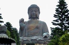 tian buddha statysolbränna royaltyfri fotografi