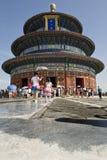 Tian dębnika świątynia Zdjęcie Stock