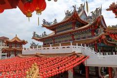Tian Hou寺庙在吉隆坡 免版税库存照片