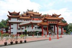 Tian Hou寺庙在吉隆坡 库存图片