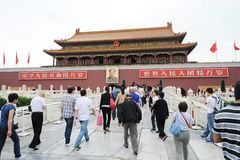 Tian an men in Beijing Royalty Free Stock Image