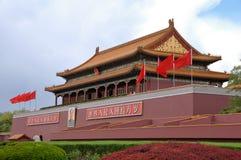 Tian-An-Men Brama, Pekin Zdjęcia Stock