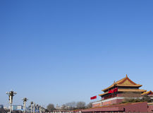 Tian An Men gate Stock Photo